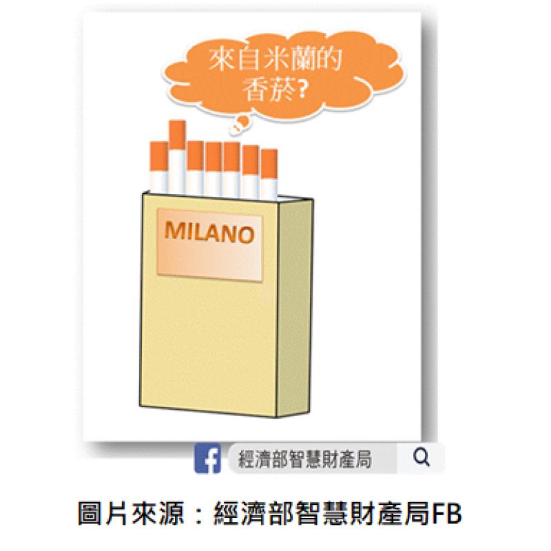 【米蘭香菸?】關於「地名」的商標判決